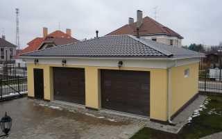 Ремонт крыши гаража: как сделать своими руками
