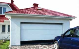 Секционные гаражные ворота своими руками: инструкции и советы