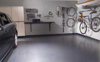 Резиновое покрытие для гаража: виды и правила укладки с видео