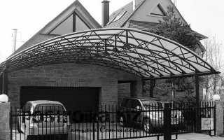 Делаем гараж с навесом: простые советы и полезная информация