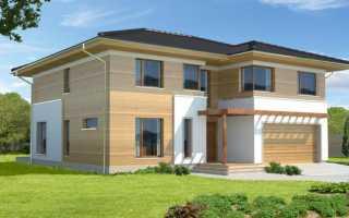 Проекты двухэтажных домов с гаражом