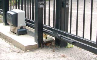 Автоматика для откатных ворот: какая удобнее