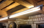 Устройство освещение для неотапливаемой мастерской гаража