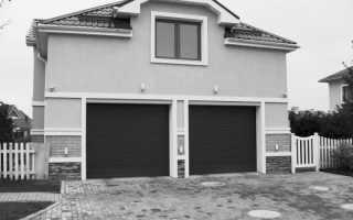 Размеры гаражных ворот: определяем параметры грамотно