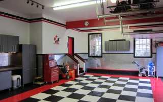 Интерьер гаража: красивый дизайн своими руками