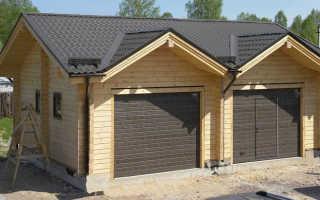 Проекты домов из бруса с гаражом: выбираем лучший