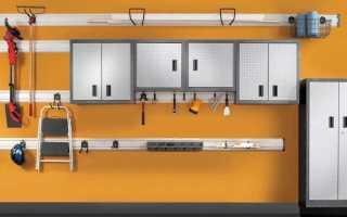Системы хранения для гаража — как сделать своими руками