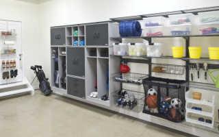 Стеллажи в гараж можно сделать самому из доступных материалов