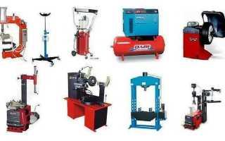 Гаражное оборудование: подбираем оптимальный набор инструментов