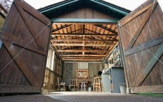 Стандартные и оптимальные размеры и высота гаража для автомобиля
