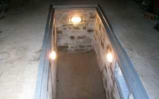 Освещение смотровой ямы в гараже: особенности и устройство