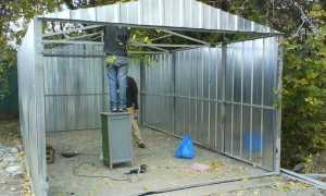 Как построить гараж на винтовых сваях своими руками: узнаем сегодня