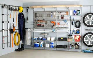 Оборудование гаража: как осуществить своими руками