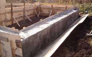 Когда снимать опалубку после заливки бетона для фундамента
