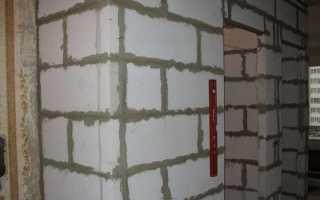 Кладка пеноблоков: строительство своими руками