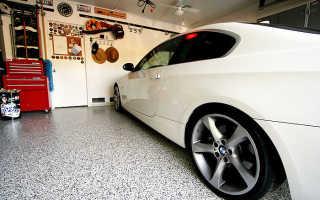 Пол в гараже: что лучше сделать — сравнение материалов