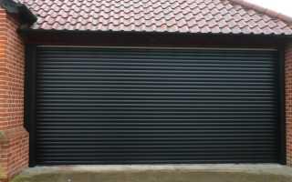 Ворота рольставни для гаража: как выбрать и установить
