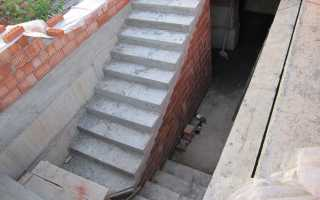 Лестница в погреб в гараже: как сделать своими руками