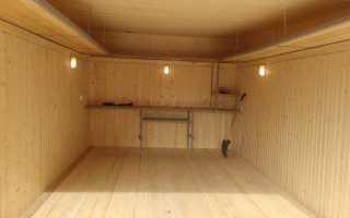 Деревянный пол в гараже: как обустроить своими руками