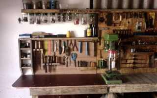 Мебель для гаража: как выбрать, как обустроить