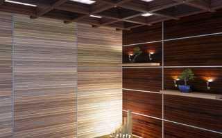 Облицовочные панели для внутренней отделки стен и их виды