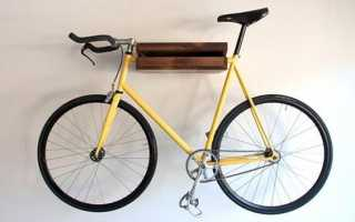 Как подвесить велосипед в гараже: принципы хранения байка