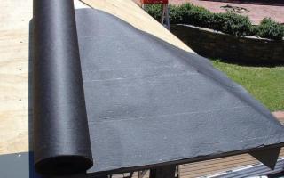 Как покрыть крышу гаража рубероидом своими руками: полезные советы