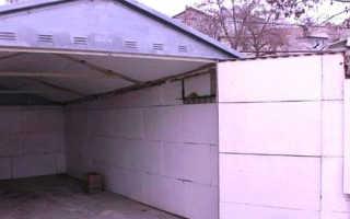 Как утеплить гараж из профнастила недорого своими руками