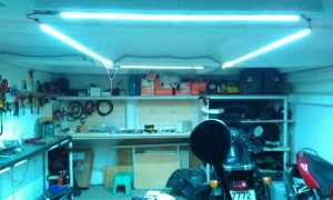 светодиодные светильники для гаража. Особенности выбора и установки гаражных светодиодных светильников