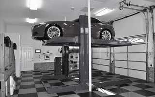 Установка подъемника в гараже: узнаем, как все сделать идеально