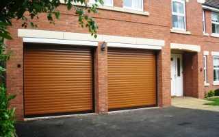 Роллетные ворота на гараж: установка своими руками