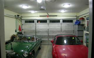 Светодиодные светильники для гаража: как выбрать