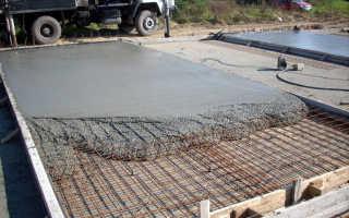 Пропорции для бетона под фундамент в зависимости от марки