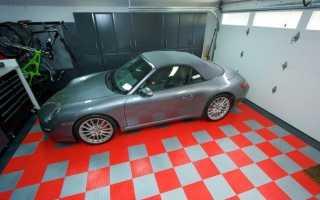 Резиновое покрытие для гаража на пол — оптимальный выбор.
