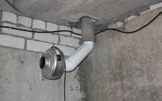 Как сделать вентиляцию в погребе гаража своими руками