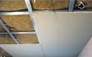 Как сделать качественный потолок в своем гараже