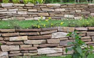 Подпорные стенки: их виды и конструкции, расчеты