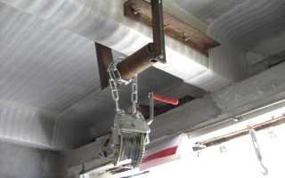 Лебедка в гараж: как сделать своими руками, пошаговая инструкция с фото
