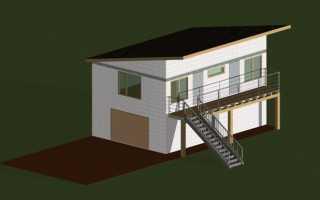 Как построить второй этаж над гаражом: от проекта до электрики