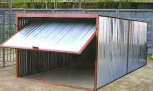 Разборный гараж своими руками: пошаговая инструкция возведения, материалы