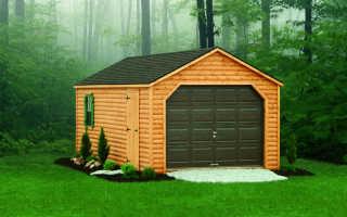 Как быстро и недорого построить теплый удобный гараж самому