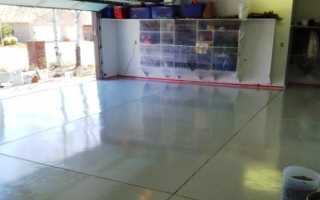 Наливной пол для гаража: современный вариант для эффективности и долговечности