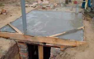 Как сделать плиту перекрытия и перекрыть погреб в гараже