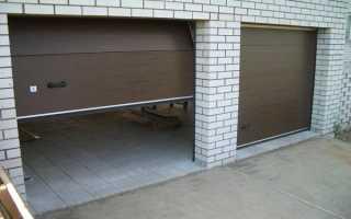 Установка секционных ворот в гараже своими руками: подготовка проема, монтаж и регулировка