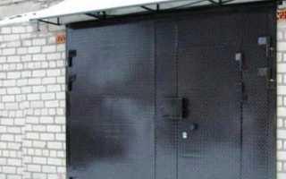 Утепление ворот гаража по периметру: принцип работы