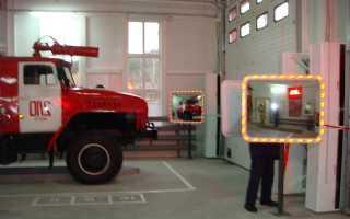 Гараж для пожарных машин: название и требования конструкции