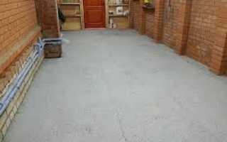 Краска для бетонного пола в гараже: выбор вида покрытия