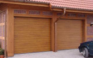 Ворота секционные гаражные: установка своими руками