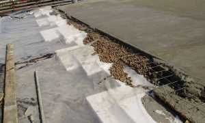 Бетонная стяжка на крыше гаража — подробная инструкция и нюансы