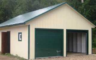 Как перекрыть крышу гаража: полезные советы, инструкция